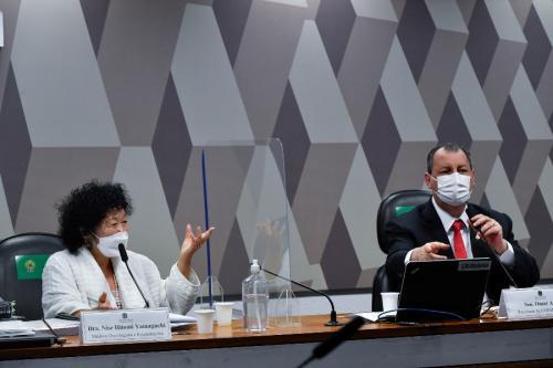 Aziz se irrita com fala de Yamaguchi: 'a vacina salva, tratamento precoce não'