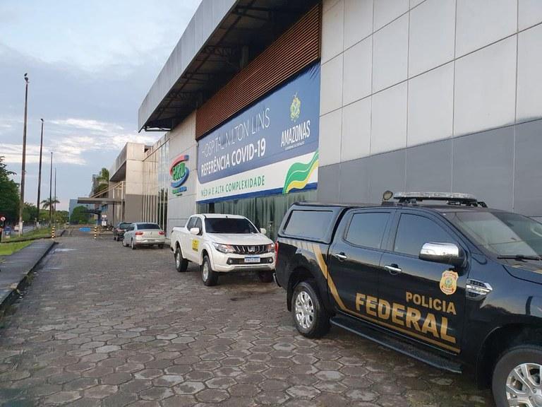 PF cumpre mandado na casa do governador Wilson Lima e na sede do governo