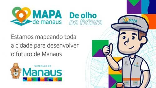 Mapa de Manaus: mapeando toda a cidade para desenvolver o futuro