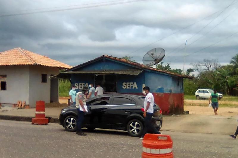 Pará monta barreira sanitária em municípios que fazem divisa com Maranhão