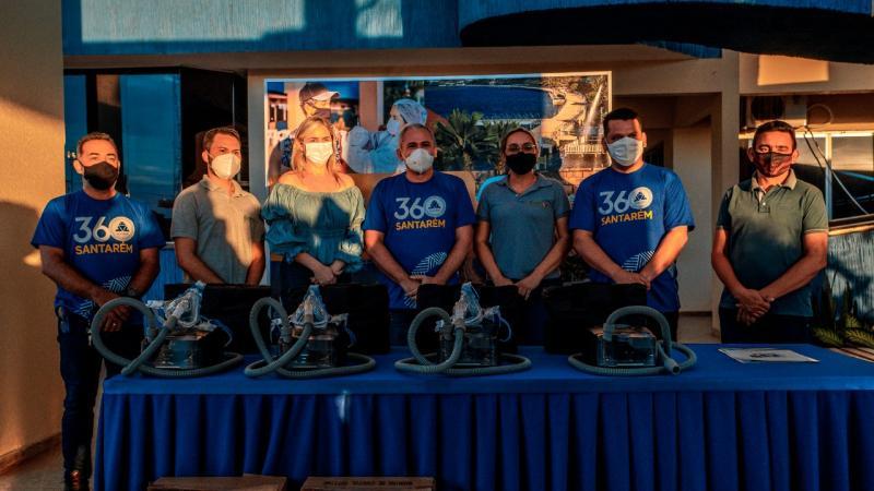 Academias Públicas de Santarém recebem equipamentos para tratar pacientes pós-covid