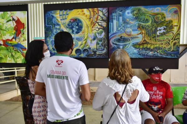 Boi Garantido encerra oficinas e palestras da 'I Semana do Meio Ambiente'