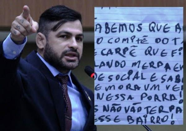 Comando Vermelho oferece R$ 100 mil 'por cabeça' de vereador de Manaus