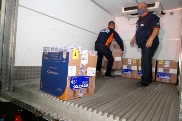 Amazonas recebe mais de 35 mil doses da Pfizer