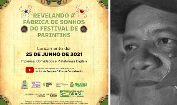 Documentário idealizado por Junior de Souza, sobre bastidores do Festival, será lançado dia 25 de junho