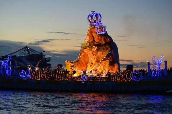 Romaria das Águas, de Nossa Senhora do Carmo, acontece hoje (14), em Parintins