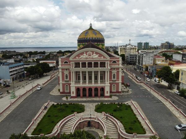 Teatro Amazonas recebe público para espetáculos a partir de terça (20)