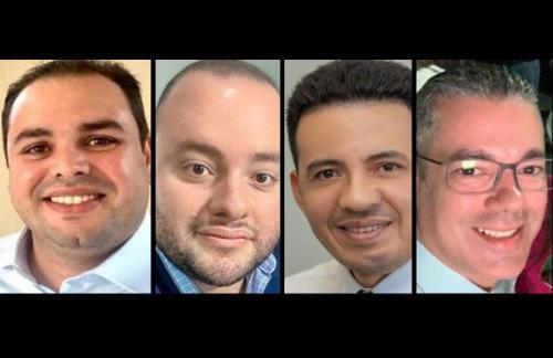 Roberto Cidade, Fausto Jr, delegado Perícles e Josué Neto passam férias em Dubai