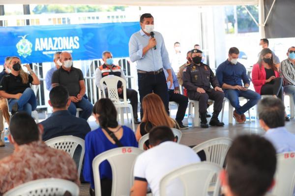 Governador do AM anuncia total de vagas para concursos da PM, PC, Bombeiros, SSP e Detran