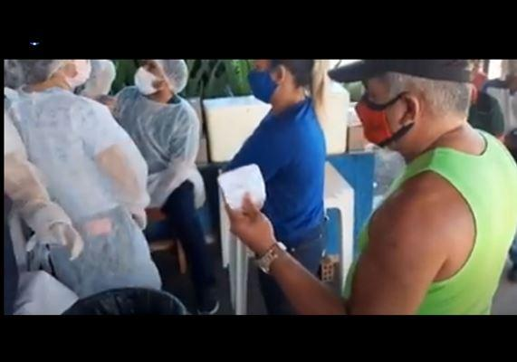 Blogueiro denuncia desorganização da vacinação da covid em Santarém