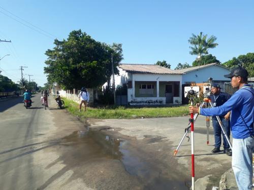 Prefeitura de Parintins elabora projeto de elevação das ruas em áreas alagadiças