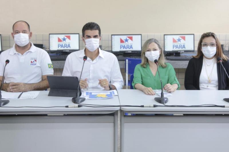 Aulas presenciais no Pará retornam no dia 2 de agosto, anuncia governador