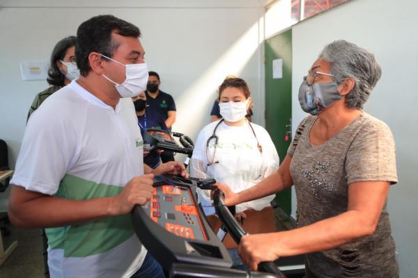 Governador anuncia ampliação do 'RespirAR' para recuperação de pacientes do pós Covid-19