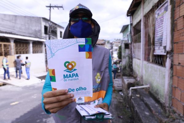 Ações do 'Mapa de Manaus' avançam na zona Leste da cidade