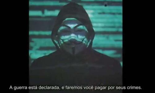 Anonymous alerta que Bolsonaro quer golpe e convoca povo à ruas