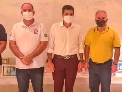 Em encontro com Helder, Queiroga promete repor vacinas não enviadas ao Pará