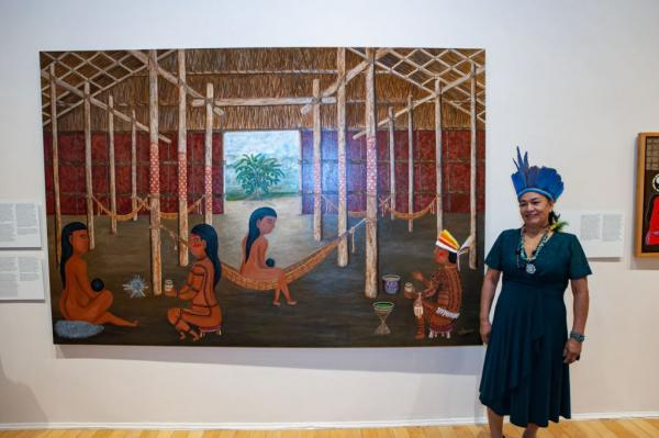 Duhigó é a primeira mulher indígena do AM no acervo do Museu de Arte de São Paulo