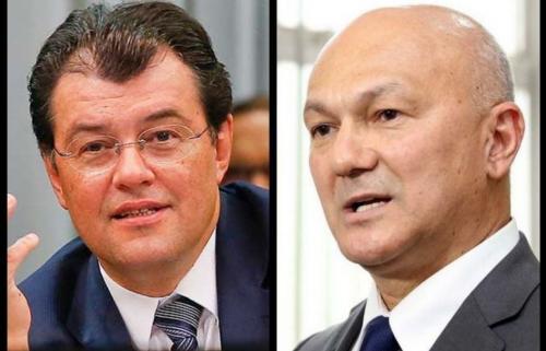 Braga e Menezes discutem aliança para 2022, com apoio de Bolsonaro
