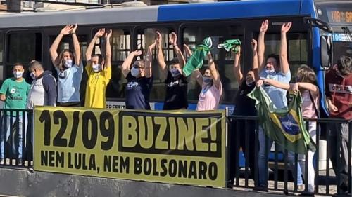 Protestos contra Bolsonaro neste domingo (12) pedem impeachment