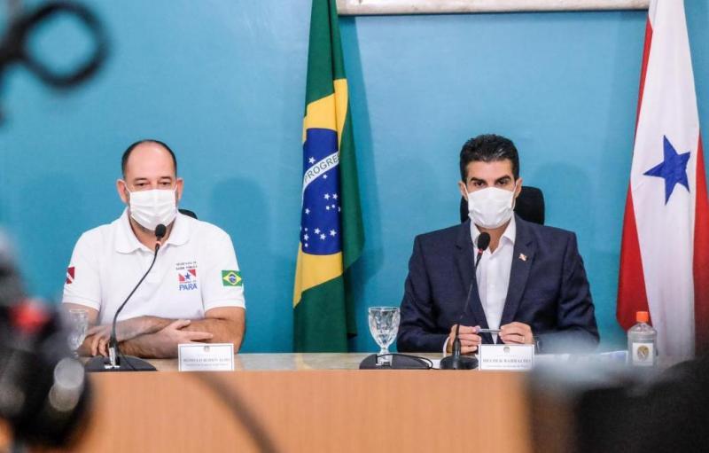 Helder Barbalho diz que Pará 'venceu a Covid-19'
