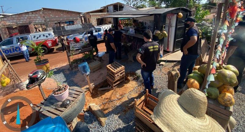 Prefeitura manda retirar ambulantes das margens da rodovia Fernando Guilhon, em Santarém