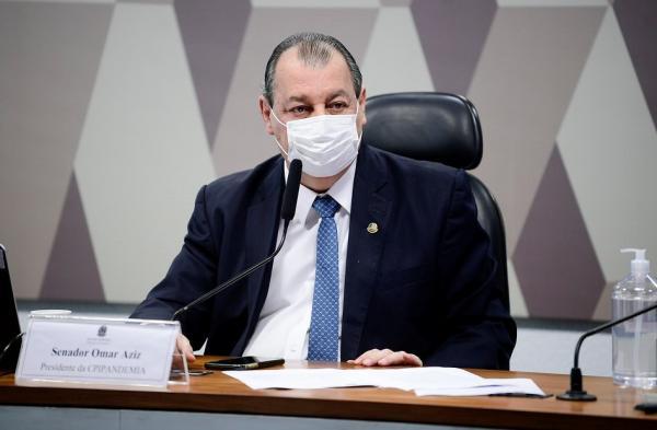 Omar quer incluir ministro da CGU no relatório final da CPI como 'prevaricador'