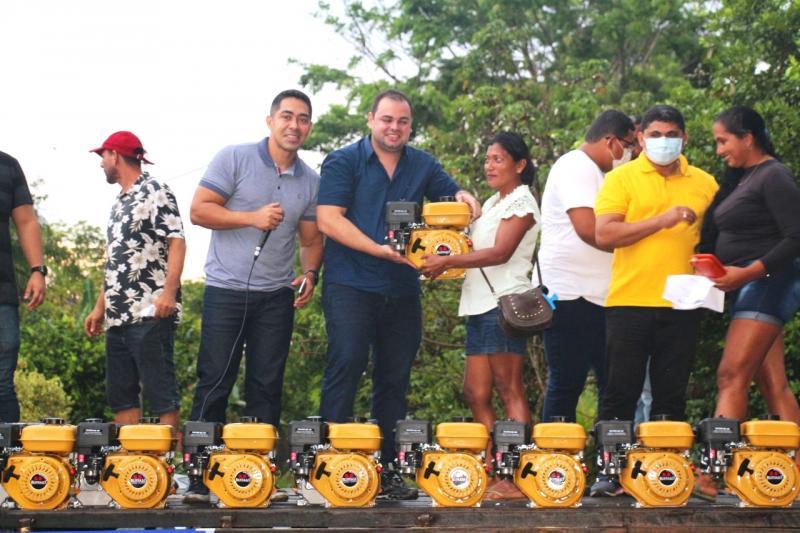 Emenda de Roberto Cidade beneficia produtores rurais e pescadores de Figueiredo