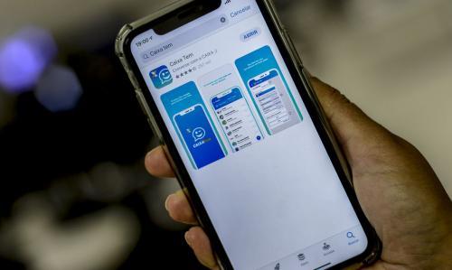 Caixa oferece empréstimo de até R$ 1 mil pelo celular