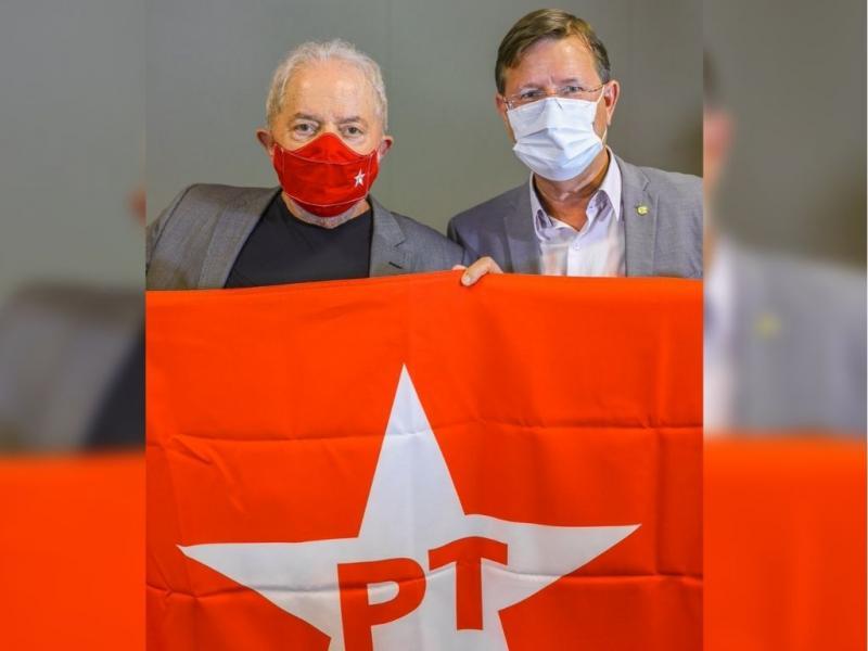 José Ricardo e João Pedro se encontram com Lula, em Brasília