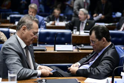 Por causa da CPI, Braga e Renan não vão à jantar com Lula