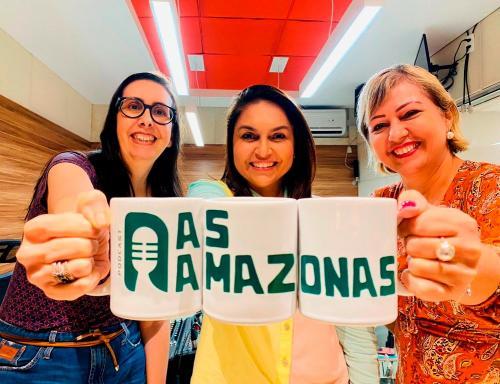Embaixada dos EUA e 'As Amazonas' oferecem curso gratuito de como fazer podcasts