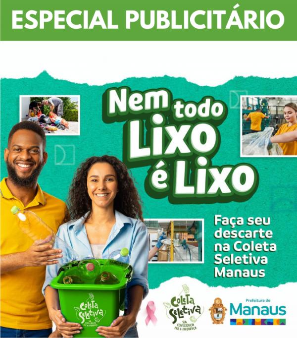 ESPECIAL PUBLICITÁRIO - NEM TODO LIXO É LIXO