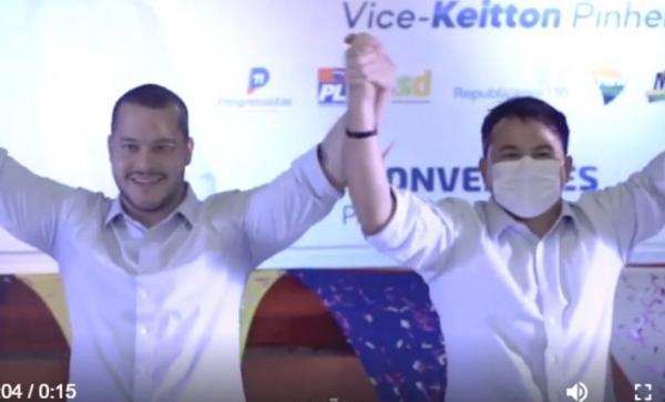 Cassado, Adail Filho 'lança' Keitton Pinheiro candidato a prefeito de Coari