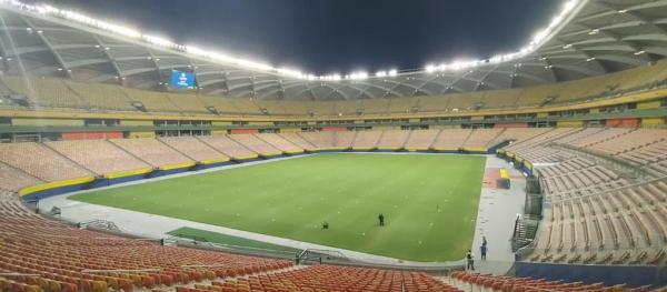 Sorteados para ver Brasil x Uruguai, em Manaus, começam a receber ingressos hoje (13)