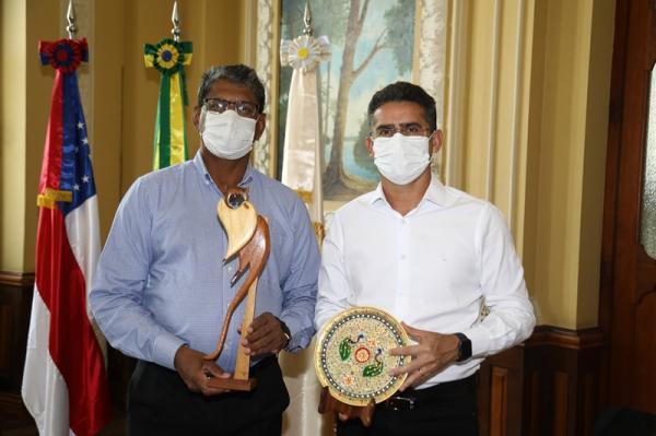 Prefeito de Manaus e embaixador da Índia discutem investimentos na ZFM