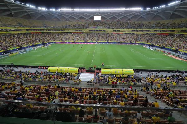Brasil goleia Uruguai em Manaus
