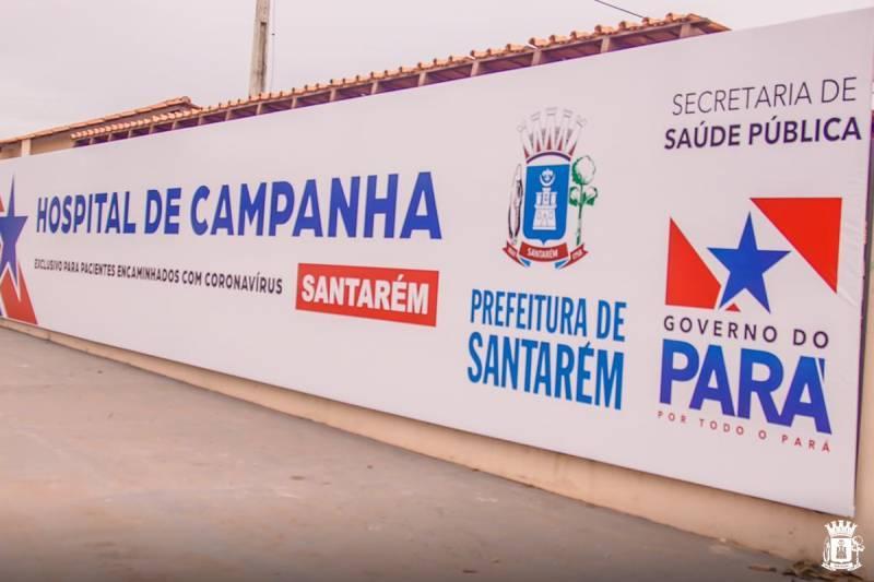 Prefeitura de Santarém anuncia desativação do Hospital de Campanha no dia 31