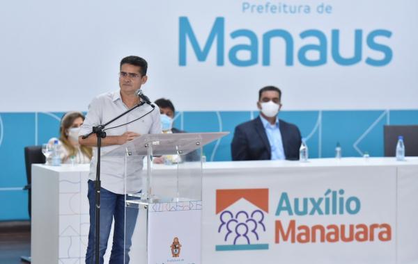 Prefeito prorroga 'Auxílio Manauara' de R$ 200 até janeiro de 2022