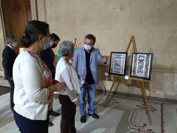 Mostra de arte indígena vai até o dia 29 para comemorar aniversário de Manaus