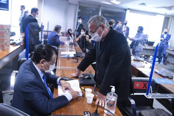 CPI avalia hoje pedido de Braga para incluir Wilson na lista de indiciados