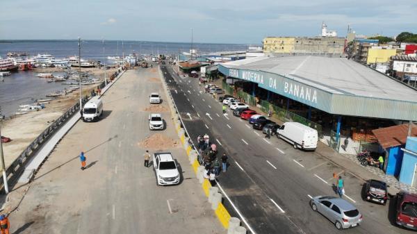 Avenida Lourenço Braga, na Manaus Moderna, ganha quase 4 metros de largura