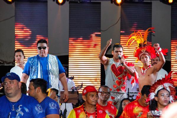 Planeta Boi Manaus com itens femininos e Tony Medeiros, David Assayag e DJ Mau Mau