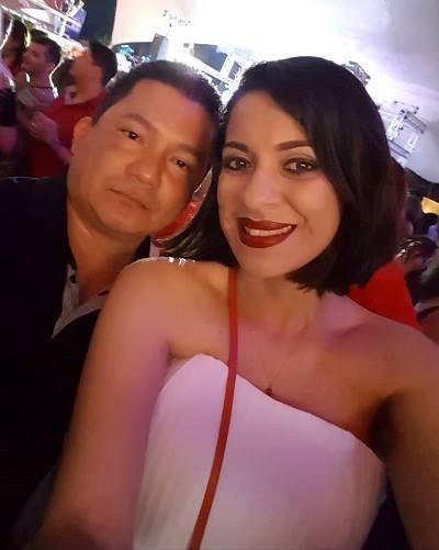 MINHA SELF  Alessandra Brasileiro com Adson Buretama, no Planeta Boi