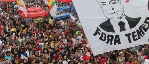 Ato 'Fora Temer' reúniu 100 mil em Copacabana