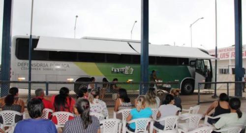 Moradores de Manacapuru recebem atendimento da DPE-AM, em parceria com prefeitura e DPU