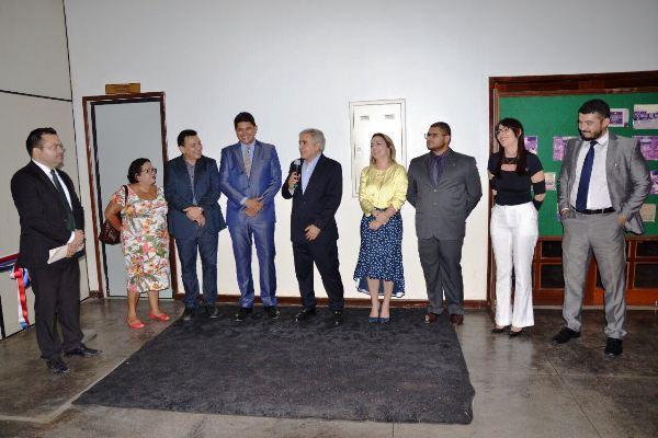 Presidente do TJAM realiza inspeção ao Fórum de Justiça de Parintins