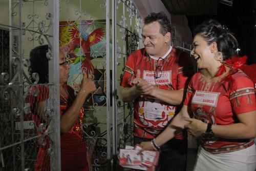 Marco Aurélio participa de encontro com sócios neste sábado, em Manaus