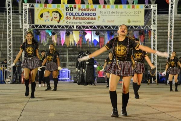 Apresentações do 60º Festival Folclórico do Amazonas seguem até sábado (23)