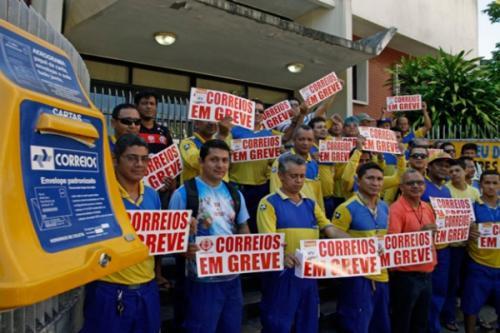 Sindicato de empregados dos Correios mantém greve e convoca ato