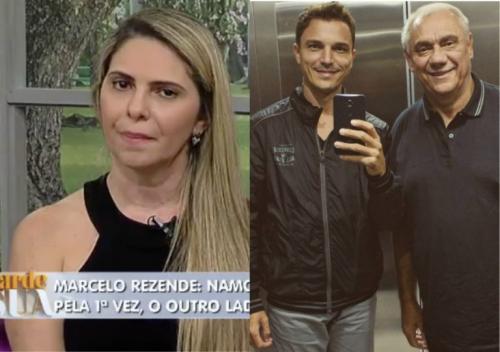 Filho de Marcelo Rezende detona namorada do apresentador e faz séria acusação